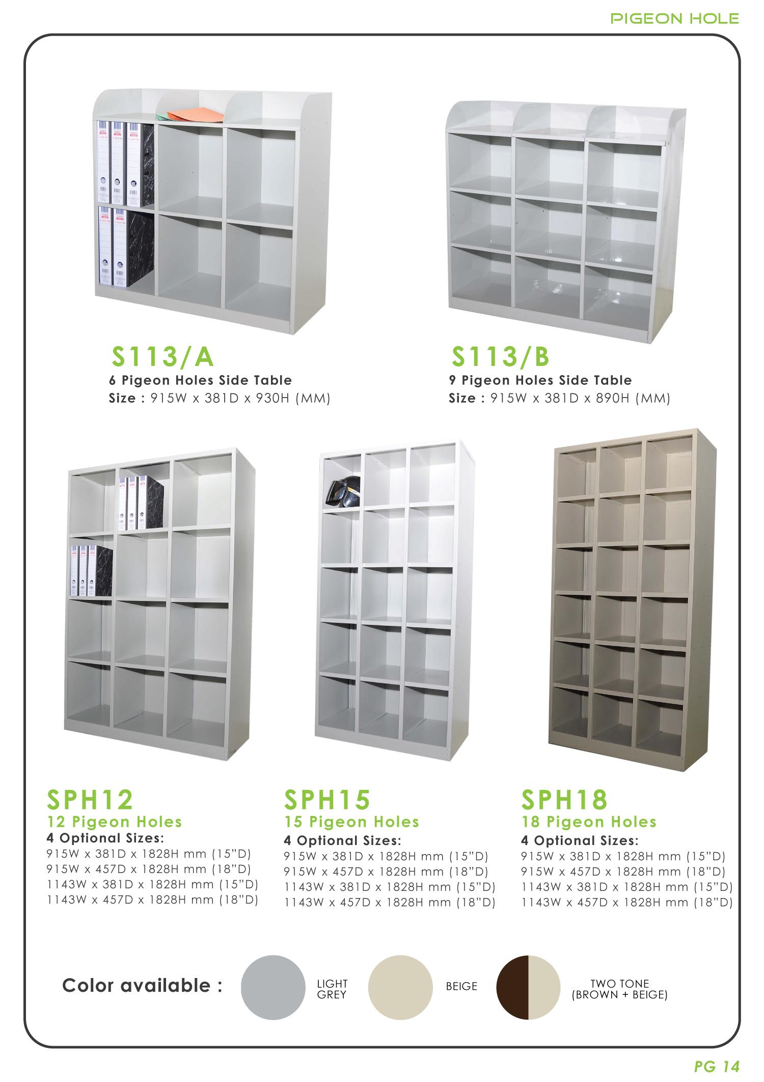 Metal U2013 Pigeon Hole Cabinet